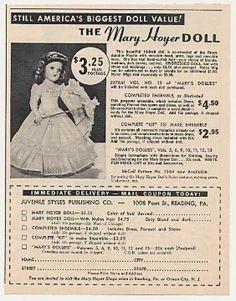 Mary Hoyer Doll Photo (1951)