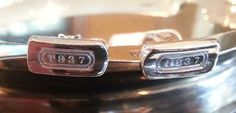 Tiffany & Co. Cuff links ~ Solid Sterling Silver ~ Free Shipping