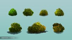 2D Forest Hand Painted Modular Pack - Asset Store