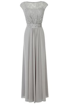 The Lori Lee Maxi Dress features a sheer lace bodice with an embellished waist tie that cinches you in giving a feminine silhouette. This fully lined dress features a graceful keyhole detail closing. Wedding Bridesmaid Dresses, Wedding Attire, Pretty Dresses, Beautiful Dresses, Evening Dresses, Prom Dresses, Bride Dresses, Maxi Gowns, Mothers Dresses