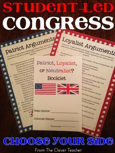 In this activity, students act as delegates & debate the actual issues from the Stamp Act Congress, 1st Continental Congress, & 2nd Continental Congress. For more activities, see my 3 week unit on the Declaration of Independence.