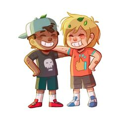 This is cute. Little Nate and Lee