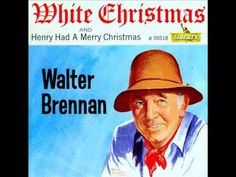 Walter Brennen- for Daddy. Always putting the lights on the tree and listening to this, eating snacks. I love you Daddy! Christmas Pops, Christmas Music, Christmas Carol, White Christmas, Vintage Christmas, Christmas Videos, Favorite Christmas Songs, Christmas Stuff, Johnny Cash