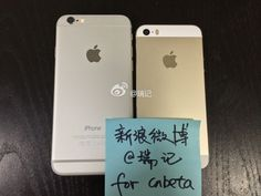 Backing of iPhone 6 4.7 and iPhone 5s Chinese