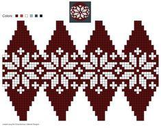 Created using Schachenmayr Julekuler Designer Knit Christmas Ornaments, Beaded Ornaments, Christmas Knitting, Christmas Crafts, Knitting Charts, Knitting Patterns, Crochet Patterns, Crochet Ball, Bead Crochet