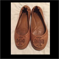 TORY BURCH FLATS. Very nice used flats, good condition. Tory Burch Shoes Flats & Loafers
