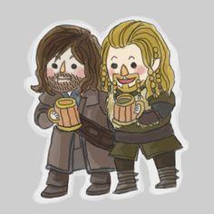 Kili and Fili by ~misshitsuneurose on deviantART #Hobbit #Fili #Kili