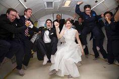 Weightless Wedding: Get Married in Zero Gravity