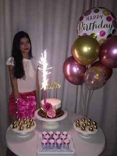 15th Birthday Party Ideas, Small Birthday Parties, Simple Birthday Decorations, Costume Birthday Parties, Picnic Birthday, 18 Birthday Party Decorations, Birthday Girl Pictures, Barbie, Pink Party Decorations