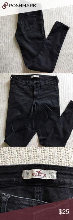 Skinny jeans Hollister All black skinny jeans Hollister Jeans Skinny