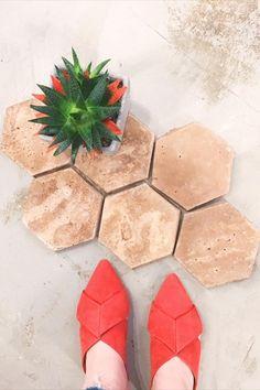 "Check out our cement hex tile. Pairs well with cute shoes and succulents. 🌵👠 Tile: @arto_brick Artillo 6"" hex in Cotto Dark. . . #artobrick #ihaveathingfortiles #ambientetile #tileshowroom #capitalhillseattle #tileinstaller #tileseattle #tiletofireyourimagination #tileaddiction #tileenvy #tileiseverything #interiordesign #backsplash #tiletiletile #tileinspiration Hex Tile, Tile Showroom, Cute Shoes, Cement, Backsplash, Brick, Succulents, Pairs, Interior Design"