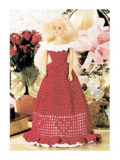 Off-the-Shoulder Doll's Sweetheart Dress http://www.free-crochet.com/detail.html?code=FC00112_id=472
