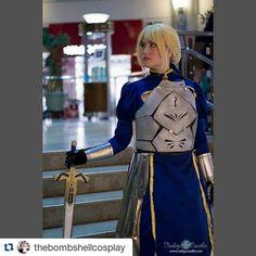 @thebombshellcosplay  photo by @hummingb_cosplay  #fatestaynightunlimitedbladeworks #fatestaynight #heavensfeel #saber #arturiapendragon #excalibur #nasuverse #typemoon #weeb #waifu #weebtrash #anime #geekgirl #armor #metalwork #woodwork #ardawigs #animeboston2016 #sakuracon2016 #animeexpo #cosplay #cosplaygirls #cosplayandbabes #cosplaygirl de starsofcosplay