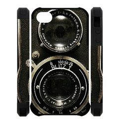 iPhone 4/4s protector Vintage camera background Fitted Cases