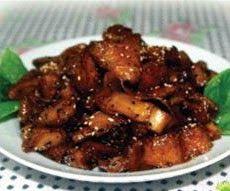 Ayam masak lada hitam chinese style dress