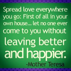 #MotherTeresaQuotes #MentalSpiritualHealth #Salud4All #Happiness #Love #Humanity
