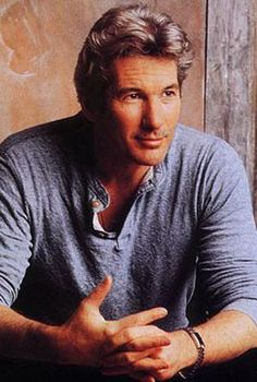 Richard Gere (born on August 1949 in Philadelphia). My late wife adored him. Richard Gere, Hollywood Actor, Hollywood Stars, Marlon Brando, Gorgeous Men, Beautiful People, Brad Pitt, Kevin Costner, Anthony Hopkins