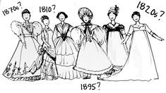 19th Century Fashion - How To Tell Different Decades Apart?