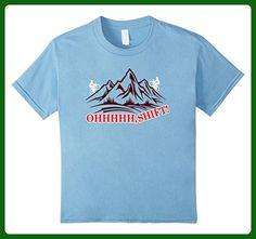Kids oh shift funny cycling shirts 6 Baby Blue - Sports shirts (*Amazon Partner-Link)
