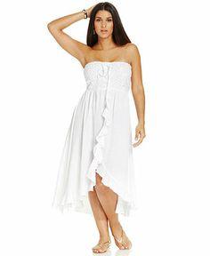 Plus Size Cover Up - Plus Size Swimwear - Plus Sizes - Macy's