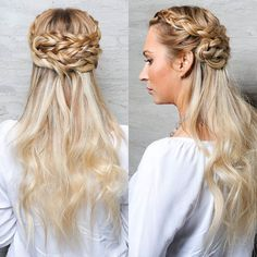 Sable loves Game of Thrones and this is some GoT inspired braiding with extensions from @lacedhairextensions. Love it Sable! We now carry @lacedhairextensions in salon so come in and talk to a stylist about clip-ins tape-ins or wefts like in this pic! Hair: @sableloveshair Extensions Braiding Extensions: @lacedhair Wefts #16/22 Products: #bbfullpotential @bumbleandbumble
