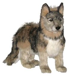 This magnificent Wolf Cub stands long x tall , and is a soft cuddly toy by the creators of - Shop for the widest range of Hansa and great prices – Your Friendly High Street Bear Store – World of Bears. Wolf Stuffed Animal, Cute Stuffed Animals, Wolf Plush, Baby Wolves, Wolf Husky, Retriever Puppy, Plush Animals, Cubs, Your Dog