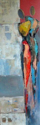 """Angela Fusenig, """"Aus der Serie"""" Mit einem Klick auf 'Als Kunstkarte versenden' versenden Sie kostenlos dieses Werk Ihren Freunden und Bekannten."""