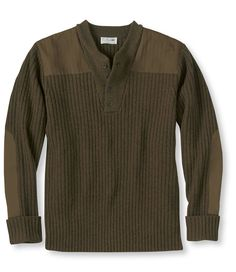 Commando Sweater, Henley- picked this up for the hubby