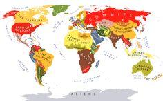 Visões de mundo   Esterótipos Stereotypes