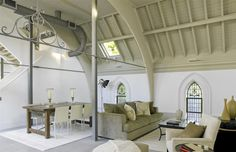 Beautiful Church Conversion in Mill Hill by Baker Kavanagh Architects