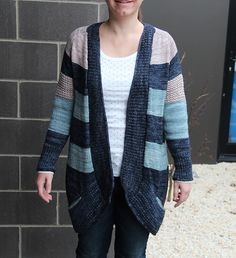 Ravelry: QuiltedTortoise's Blue Sand Cardigan