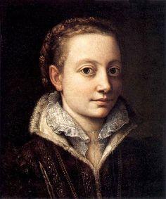 Sofonisba Anguissola (1532-1625) Self Portrait 1500s Women Artist