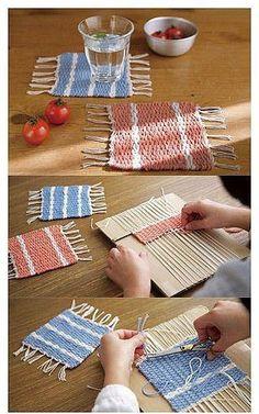 Как легко сделать коврик своими руками