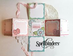 View Blog Post | Spellbinders - Springtime Photobook by designer Teresa Horner