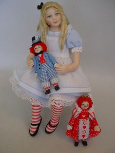 Alice with Raggedies
