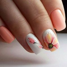 Nail art is a very popular trend these days and every woman you meet seems to have beautiful nails. It used to be that women would just go get a manicure or pedicure to get their nails trimmed and shaped with just a few coats of plain nail polish. Spring Nail Art, Spring Nails, Spring Art, Summer Nails, Spring Time, Autumn Nails, Shellac Nails, Nail Polish, Nail Nail