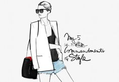 My 5 other Commandments of Style / Garance Doré