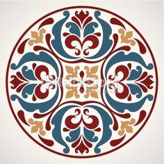 rosemaling pattern idea