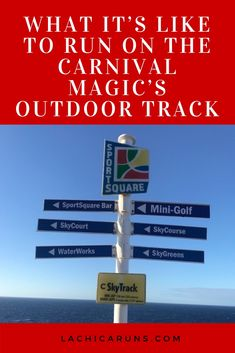 Booked on the Carnival Magic? This is what it's really like to run on its outdoor track. Sure, you can run on a boring treadmill, but why miss out on the beautiful views? Running Friends, Magic S, 25th Wedding Anniversary, Waterworks, Caribbean Cruise, What Is Like, Treadmill, Carnival, Track