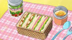 Warau Salesman New 03 #AnimeFood  https://www.facebook.com/DeliciousAnimeFood/