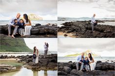 W Family portrait session at Baby Makapu'u Tidepools. Oahu Family Photographer - Sharleen Mey Photography