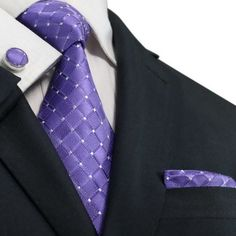Lavender Silk Necktie SetJPM51T – Toramon Necktie Company