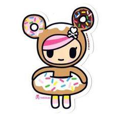 Donutella - tokidoki Sticker