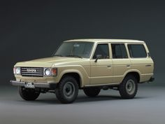 that landcruiser is dope.