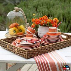 Menaje en tu #terraza #jardin