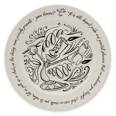 Lumiere Be Our Guest Dinner Plate...my table needs some disney love