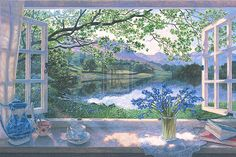 images of stephen darbishire art | Stephen Darbishire - The First Bluebells