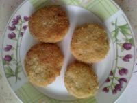 Czosnkowo-pomidorowe kotleciki z kaszy jęczmiennej (dieta wegańska)