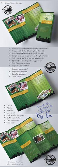 Brochure Trifold, File Organization, Text Fonts, Templates, Marketing, Facebook, Business, Graphics, Stencils