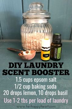 20 Homemade Cleaning Products (With Oils!) You Can Whip Up In A Flash 20 Homemade Cleaning Products (With Oils!) You Can Whip Up In A Flash DIY Laundry Detergent Scent Booster Essential Oils For Laundry, Homemade Essential Oils, Clove Essential Oil, Making Essential Oils, Diy Vanity, Diy Laundry Detergent, Homemade Dishwasher Detergent, Limpieza Natural, Homemade Cleaning Products
